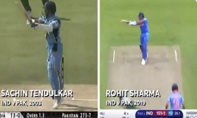 सचिन ने रोहित के छक्के से तुलना पर आईसीसी को दिया ऐसा दिल जीतने वाला जबाव Images