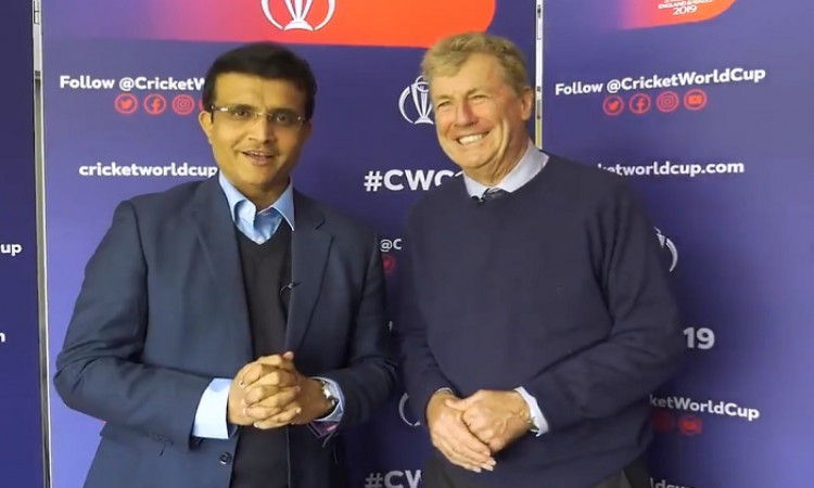 Sourav Ganguly & John Wright