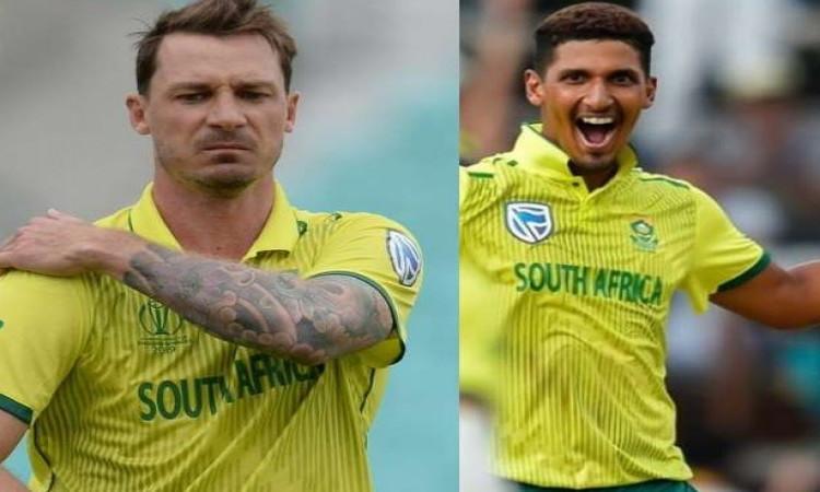 CWC19: डेल स्टेन की जगह इस तेज गेंदबाज को साउथ अफ्रीकी टीम में किया गया शामिल Images