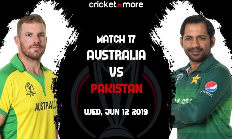 Live Updates Australia vs Pakistan