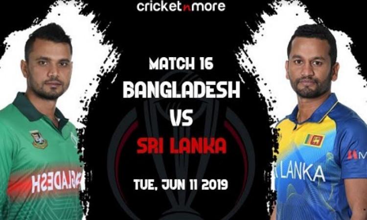 वर्ल्ड कप में श्रीलंका के सामने बांग्लादेश की चुनौती, कैसी होगी दोनों टीमों की प्लेइंग XI ( मैच प्रि