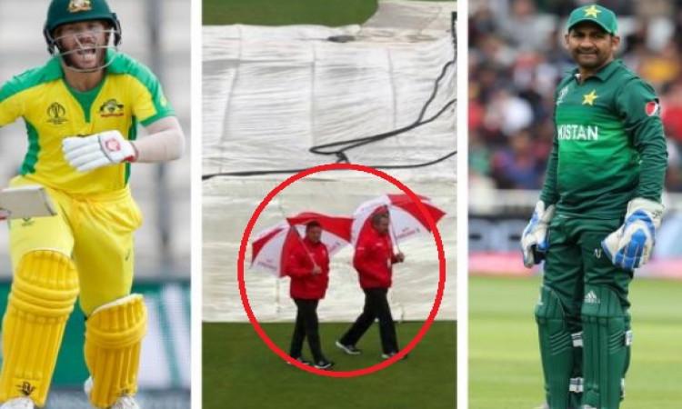 Weather Update मैच 17: ऑस्ट्रेलिया बनाम पाकिस्तान, जानिए क्या आजके मैच में बारिश होगी या नहीं ? Imag
