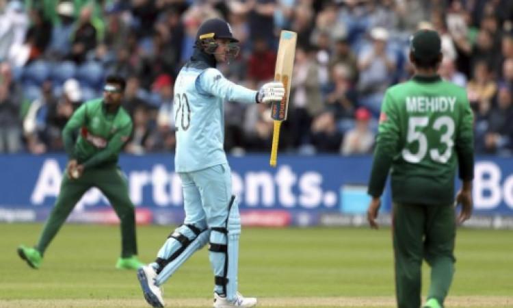 बांग्लादेश के खिलाफ इंग्लैंड टीम का धमाका, 387 रन बनाकर वर्ल्ड कप में बना दिया यह सबसे बड़ा रिकॉर्ड
