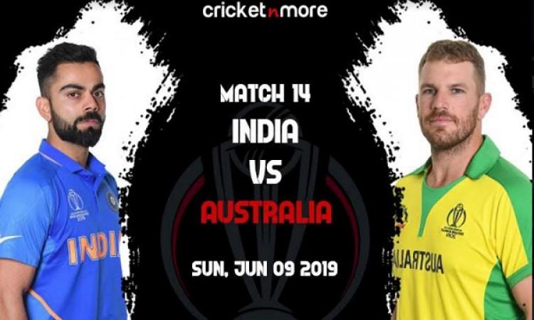 वर्ल्ड कप में आस्ट्रेलिया से भिड़ेगा भारत, बलिदान चिन्ह विवाद के बीच होगी कड़ी टक्कर ( प्लेइंग XI, प
