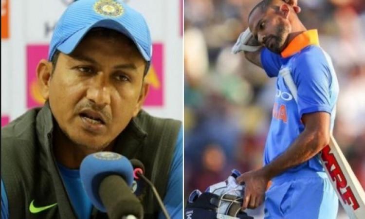 sajnay Bangar and Dhawan
