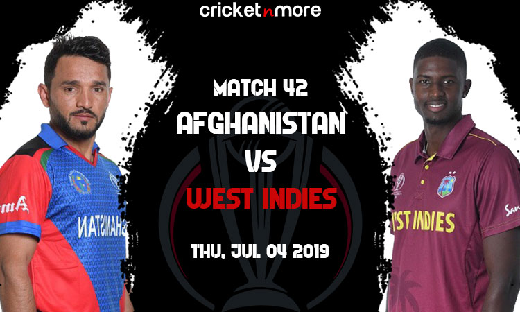 Afghanistan VS WESTINDIES