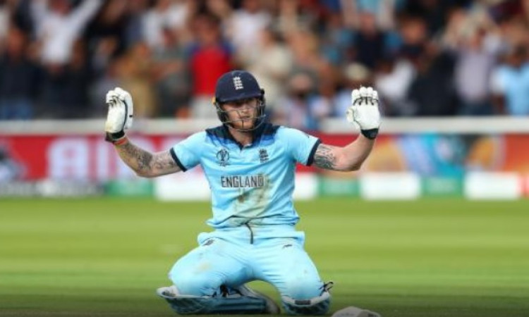 Stokes asked umpire to take off four overthrows during WC final Images