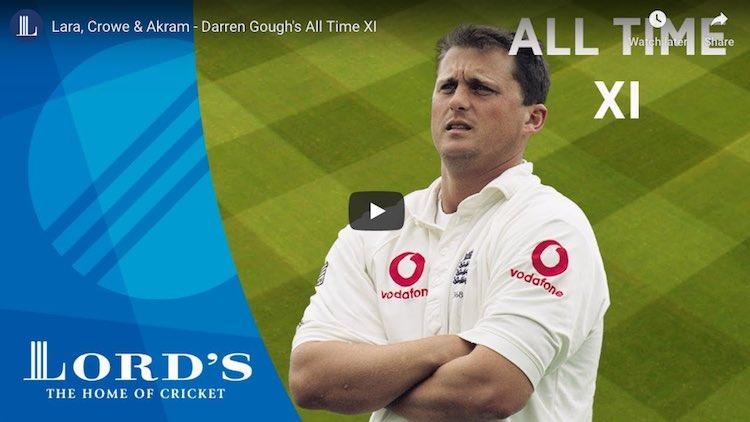 Darren Gough Playing XI