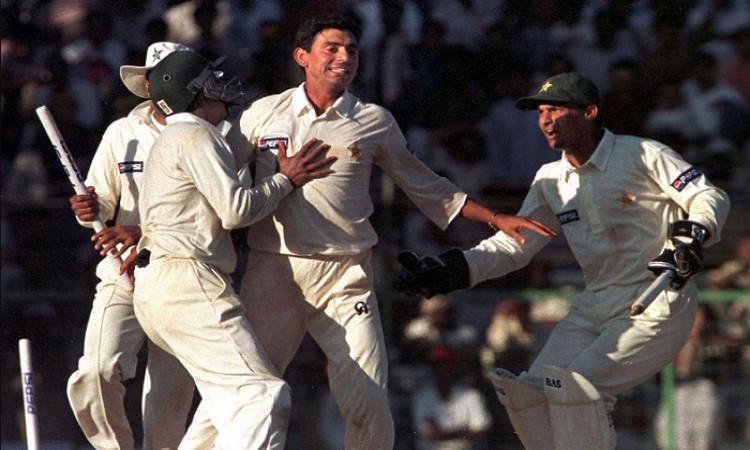 India vs Pakistan Chennai Test 1999