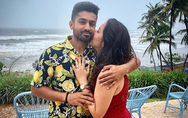 Karun Nair Engagement