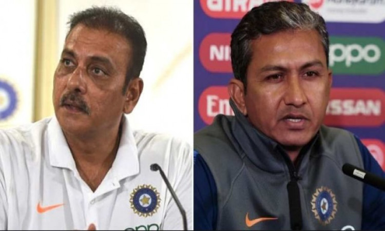 Ravi shastri and Sanjay Bangar