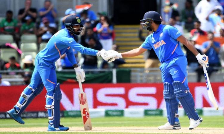 Rohit sharma and Lokesh RAhul