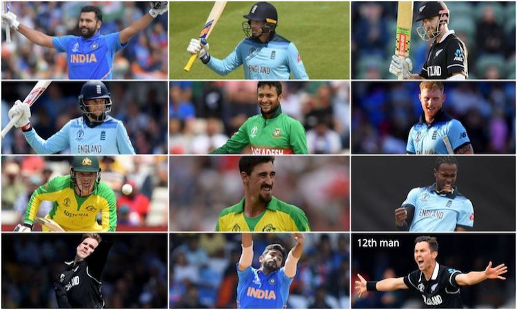 Team of the ICC Men's Cricket World Cup 2019