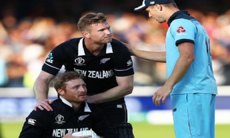 Neesham's childhood coach died during WC Super Over Images