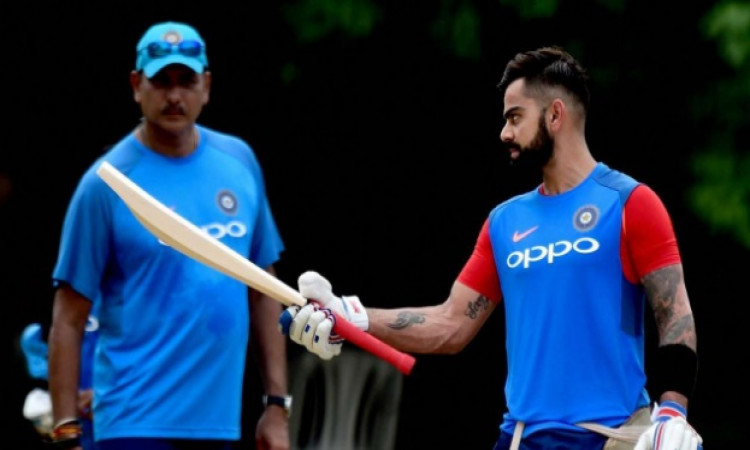 kohli and Ravi Shastri