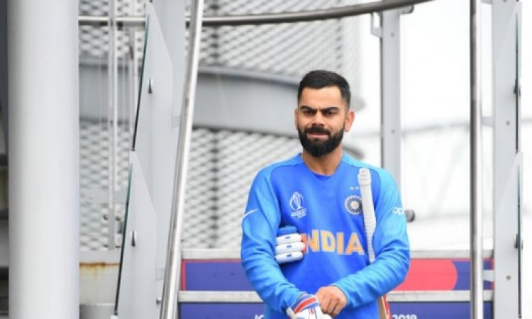 kohli has retained his number one position in the latest icc test batsmen's rankings Images