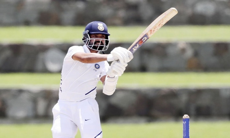 IND vs WI: Rahane's rescue act takes India to 203/6 on Day 1 Images