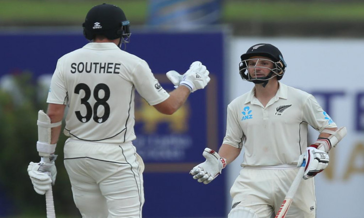 BJ Watling and Tim Southee