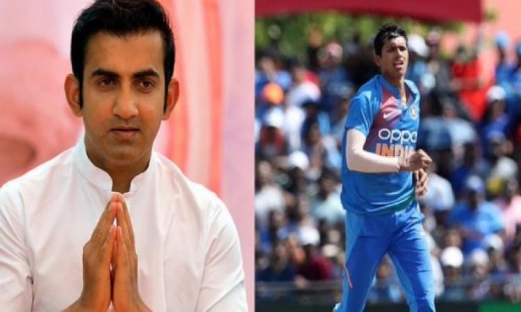 Gambhir slams Bedi, Chauhan after Saini's dream India debut Images