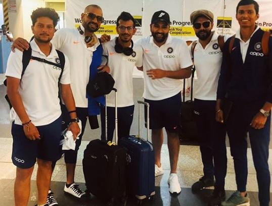 दूसरे वनडे से पहले धवन, रोहित, नवदीप सैनी और युजवेंद्र चहल इस अंदाज में दिखाई दिए, देखिए Images