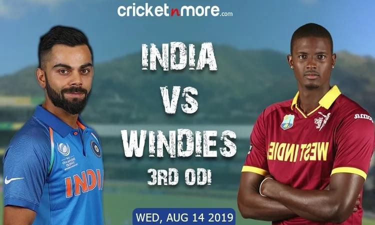 India vs West Indies Live Updates