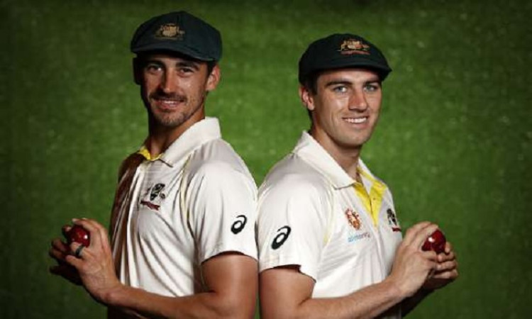 Mitchell Starc and Pat Cummins