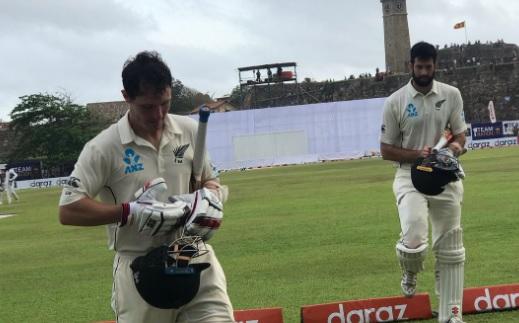 गॉल टेस्ट मेंन्यूजीलैंड ने ली 177 रन की बढ़त,वाटलिंग औरटॉम लाथम ने खेली संघर्ष भरी पारी Images