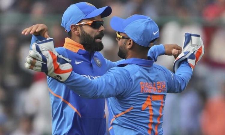 Virat Kohli and Rishabh Pant