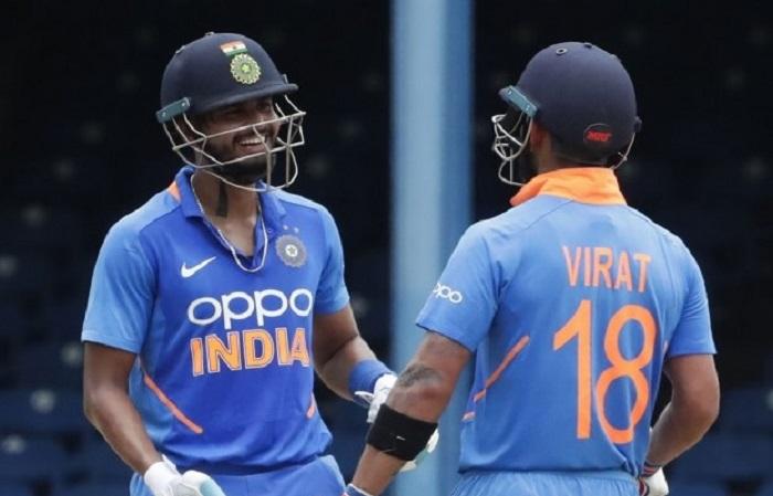 Virat Kohli and Shreyas Iyer