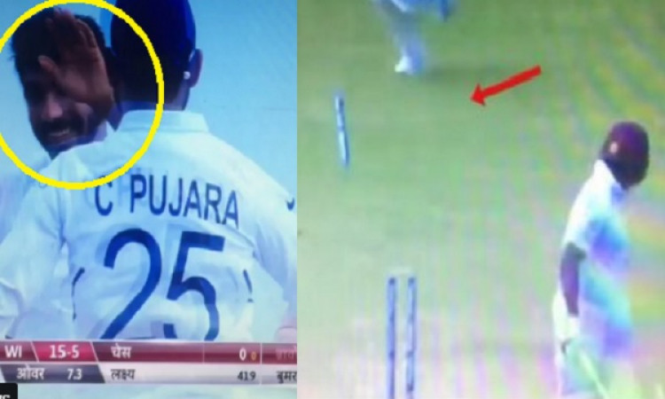 VIDEO बुमराह ने अपनी सॉलिड गेंद पर डैरेन ब्रावो को किया बोल्ड, स्टंप की हो गई ऐसी हालत Images