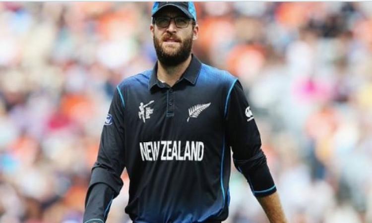 New Zealand Cricket retired former skipper Daniel Vettori's jersey number 11 Images