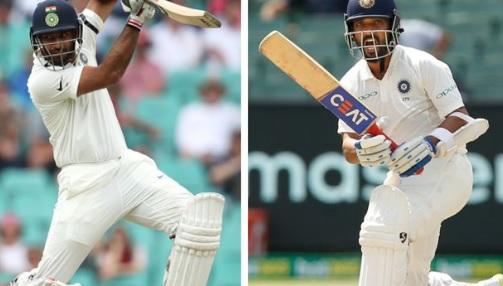 वेस्टइंडीज ए के खिलाफ अभ्यास मैच बिना परिणाम के समाप्त, रहाणे की हुई फॉर्म में वापसी Images