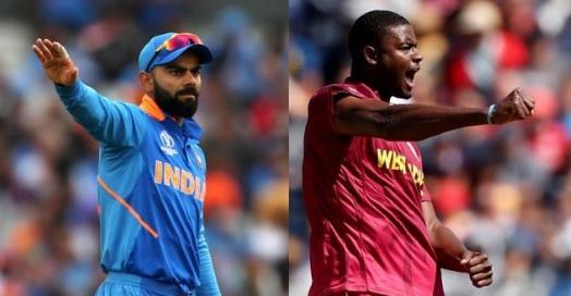 तीसरे वनडे में भारत के खिलाफ वेस्टइंडीज ने जीता टॉस,  पहले बल्लेबाजी का फैसला Images
