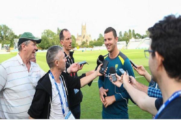 लॉर्ड्स की चुनौती के लिए तैयार हैं आस्ट्रेलिया के तेज गेंदबाज, जोस हेजलवुड का आया बयान Images