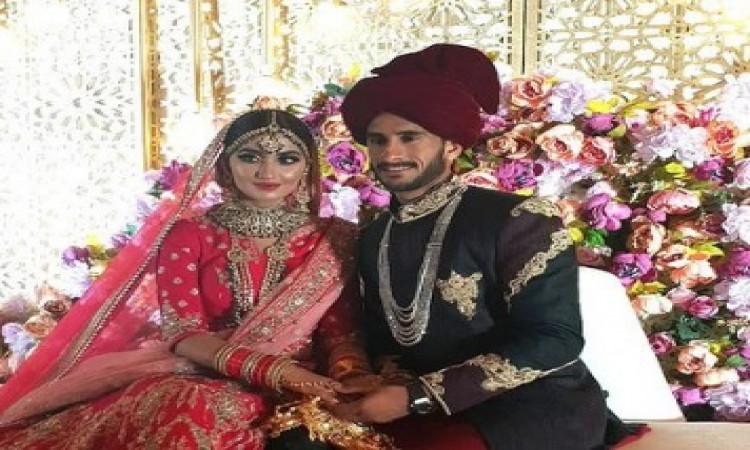पाकिस्तान क्रिकेटर हसन अली ने भारत की खूबसूरत महिला शामिया आरजू से शादी की, देखिए ! Images