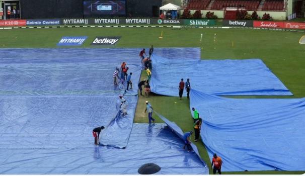 भारत Vs वेस्टइंडीज, बारिश के कारण टॉस में देरी, जानिए कब शुरू होगा मैच ? Images