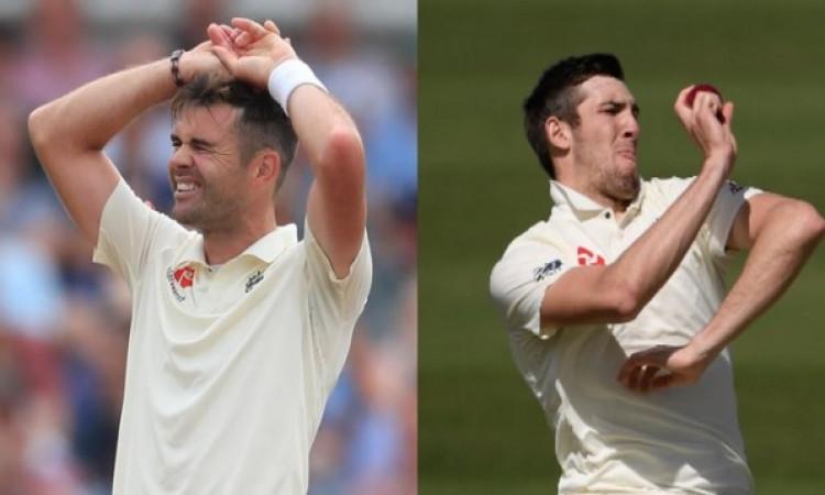 जेम्स एंडरसन एशेज सीरीज के बाकी बचे 2 टेस्ट मैचों से हुए बाहर, चौथे टेस्ट के लिए इंग्लैंड टीम घोषित