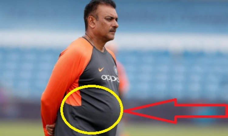 Trolls ask head coach Shastri to focus on fitness Images