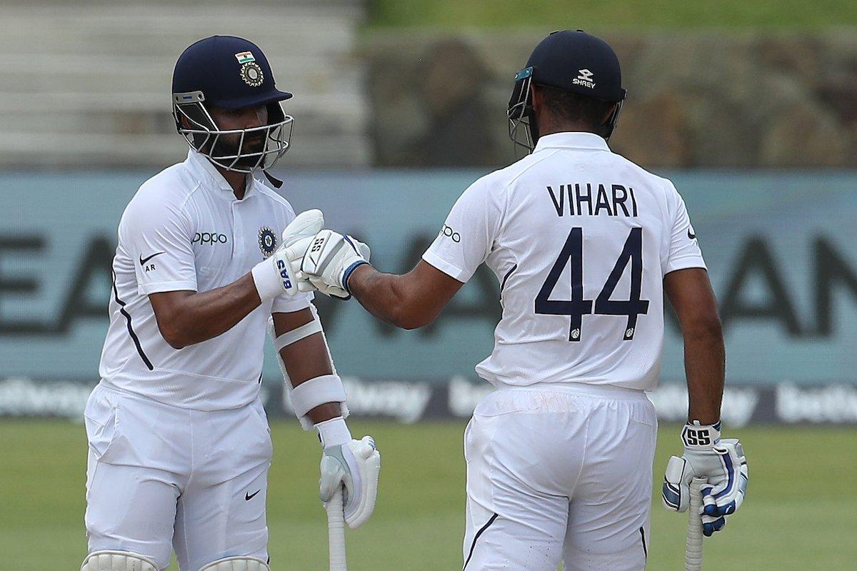 Ajinkya Rahane and Hanuma Vihari