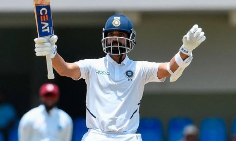 वेस्टइंडीज के खिलाफ शतक जड़ने के बाद रहाणे ने जो कहा उससे उनके कोच प्रवीण आमरे हुए बेहद खुश Images