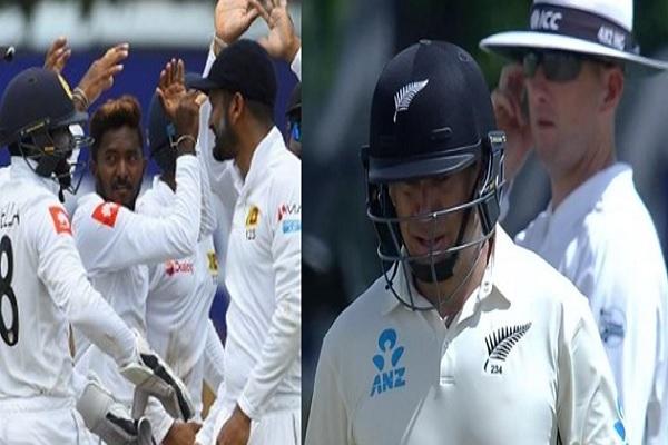 गॉल टेस्ट में अकिला के 'पंजे' से निकलकर न्यूजीलैंड ने बनाए 203/5 रन, रॉस टेलर ने संभाली पारी Images