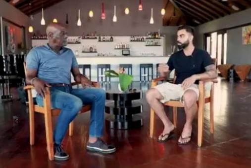 कोहली ने लिया इंटरव्यू, इस कारण महान विवियन रिचर्ड्सन नहीं पहनते थे बल्लेबाजी के दौरान हेलमेट Images