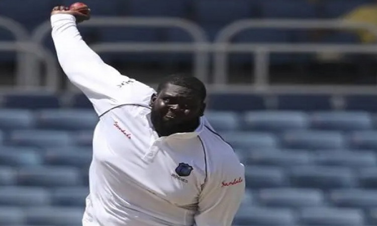 पुजारा को आउट कर टेस्ट करियर में पहला विकेट लेने वाले भारी- भरकम गेंदबाज रहकीम ने कही यह बात Images
