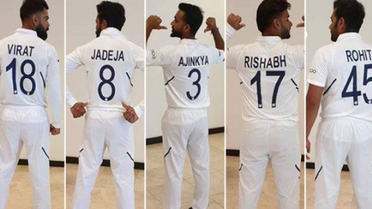 भारत Vs वेस्टइंडीज: पहली बार भारतीयखिलाड़ियों की जर्सी पर उनका नाम और नंबर लिखा होगा Images