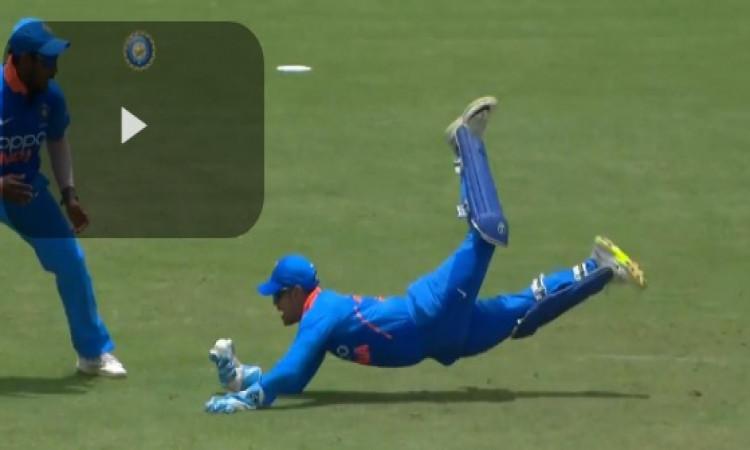 WATCH देखिए ईशान किशन ने लपका हैरान करने वाला कैच, साउथ अफ्रीका ए के खिलाफ मैच में हुआ ऐसा ! Images