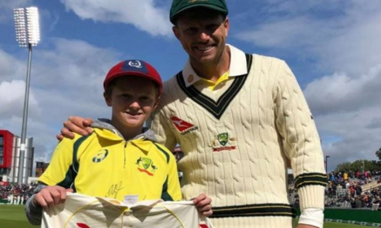 Meet the 12-year-old kid who put out bins to watch Ashes Images