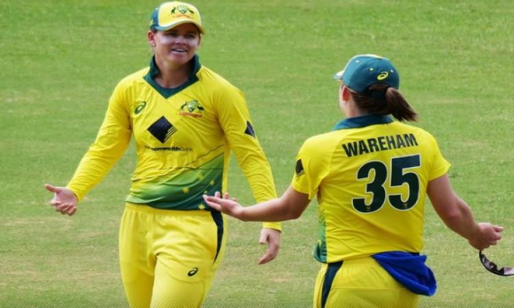 आस्ट्रेलिया की महिला क्रिकेट टीम 2021 वर्ल्डकप में जगह बनाई Images