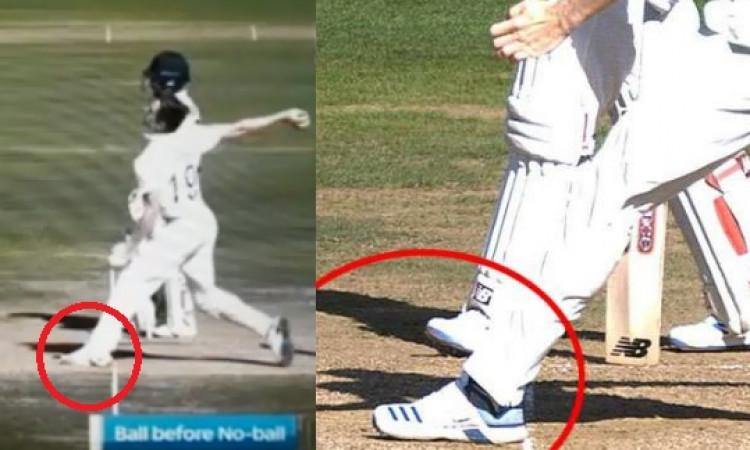 5200 गेंद फेंकने के बाद इस गेंदबाज ने पहली दफा टेस्ट करियर में की नो बॉल, देखिए वीडियो Images