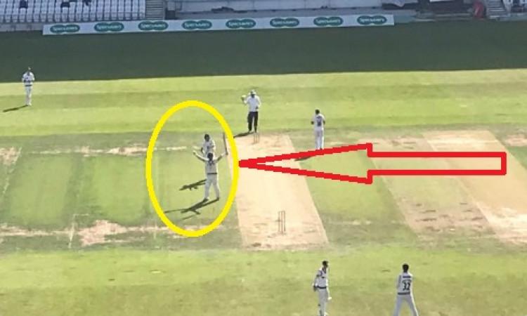 43 साल की उम्र में इस बल्लेबाज ने ठोका दोहरा शतक, वर्ल्ड क्रिकेट में बना ऐतिहासिक रिकॉर्ड Images