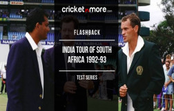 Flashback India tour of South Africa 1992-93 Test Series
